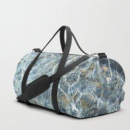 Blue Water Waves Duffle Bag
