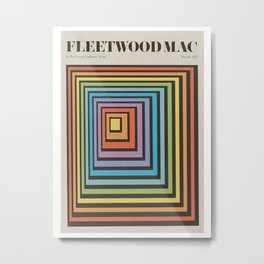 Fleetwood Band Metal Print