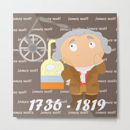 James Watt Metal Print