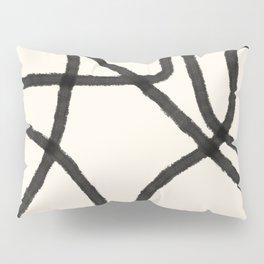 Thick Continuous Line Series 8 | Boho Home Decor, Modern Wall Art, Continuous Line Art, Contour Line Pillow Sham