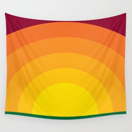 Bold Sunset Wall Tapestry