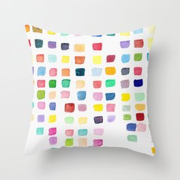 Cascade Square Throw Pillow