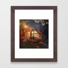 Columbus the Squirrel Framed Art Print