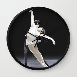 Black Currant - Rivamika (Pas de Deux) Wall Clock