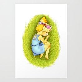 Animal Crossing: Queen Isabelle  Art Print
