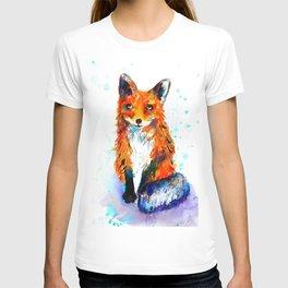Little Fox in the Snow T-shirt