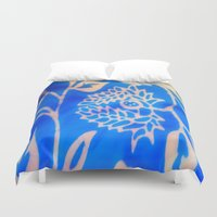 bali Duvet Covers featuring Bali by Mirabella Market