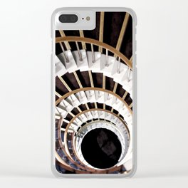 Stare down Clear iPhone Case
