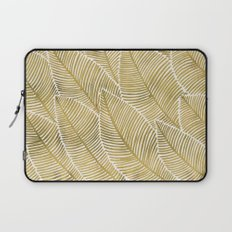 Tropical Gold Laptop Sleeve