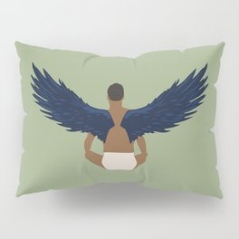 Bird Man Pillow Sham