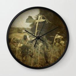 Dove gira il sole Wall Clock