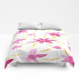 Magenta Love Comforters
