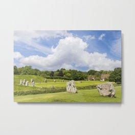 Avebury Stone Circle Metal Print
