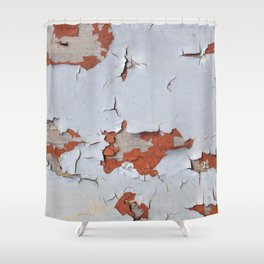 Peeling Paint 02 Shower Curtain