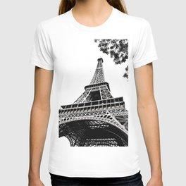 Eiffel Tower in Paris, France. T-shirt