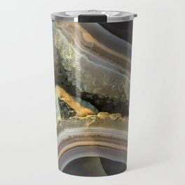 Patterns of agate gem Travel Mug