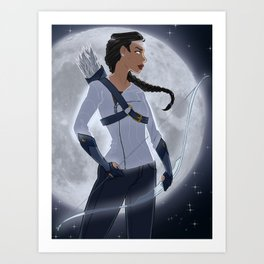 Artemis, Goddess of the Moon Art Print