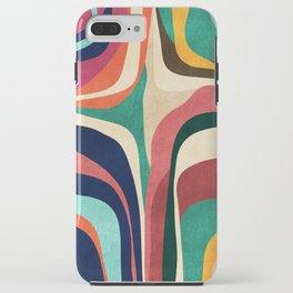 Impossible contour map iPhone Case