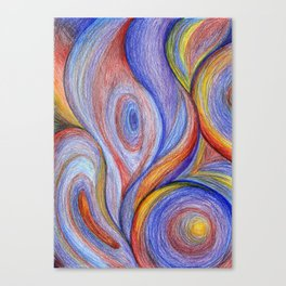 HOT Color blend Canvas Print