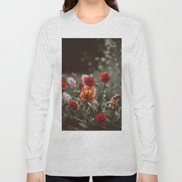 Rustic Floral (Color) Long Sleeve T-shirt