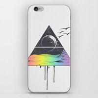 breathe iPhone & iPod Skins featuring Breathe by Jorge Lopez
