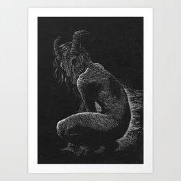 Pristess Art Print