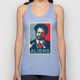 Because Aliens Unisex Tank Top