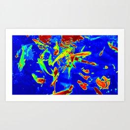 Thermal art 005 Art Print