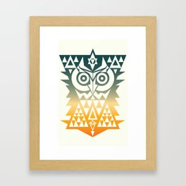 TRIANGOWL Framed Art Print