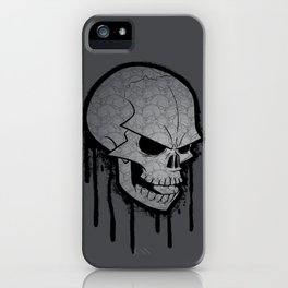 Skull Face iPhone Case