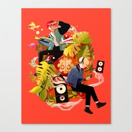 Fly away to SOPE world Canvas Print