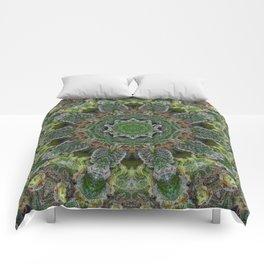 Green Queen Comforters