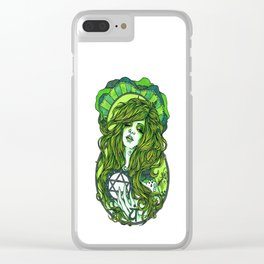 Heart Chakra Clear iPhone Case