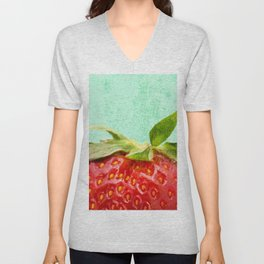 Strawberry Top Unisex V-Neck