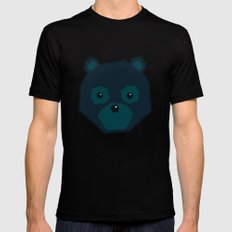 Polygon Bear Black Mens Fitted Tee MEDIUM