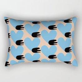 Bullet heart Rectangular Pillow