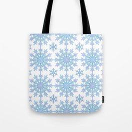 Snowflake Medallion Pattern 1 Tote Bag