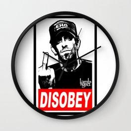 Disobey Randy Wall Clock