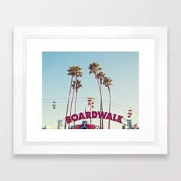 Boardwalk Framed Art Print