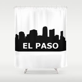 El Paso Skyline Shower Curtain