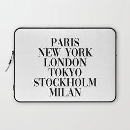cities Laptop Sleeve