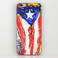 puerto rico iPhone & iPod Skins featuring Puerto Rico by Joel Gonzalez