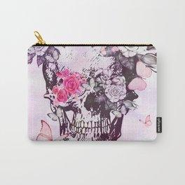elegant skull Carry-All Pouch