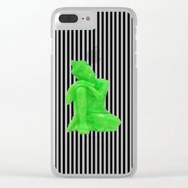 My  inner Green Buddha | Namaste Pop Art Buddha Clear iPhone Case