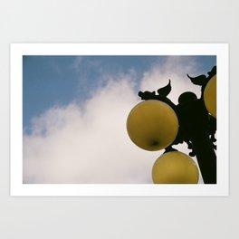 Gaslamp Art Print