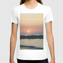 Sunset Ocean Bliss #3 #nature #art #society6 T-shirt