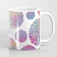 Watercolor Flowers Mug
