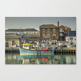 George Inn Weymouth  Canvas Print