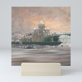 View from the Neva Mini Art Print