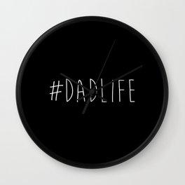 #Dadlife Wall Clock